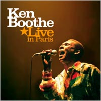 Album: KEN BOOTHE - Live in Paris