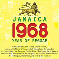 Album: VARIOUS ARTISTS - Jamaica 1968 : Year of Reggae
