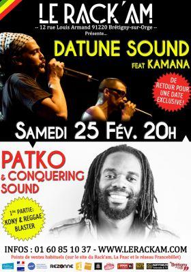 PATKO & DATUNE SOUND - Reggaefrance.com