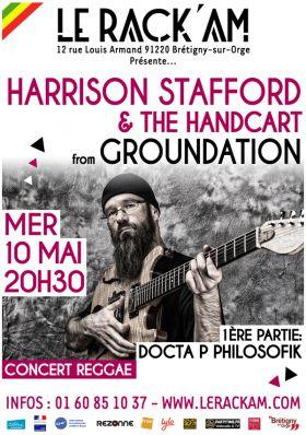 HARRISON STAFFORD (Groundation - Reggaefrance.com