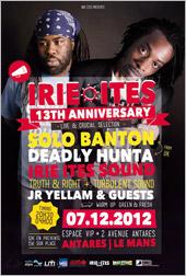 News reggae : Irie Ites fête ses 13 ans