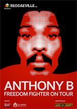 News reggae : Tournée annulée pour Anthony B