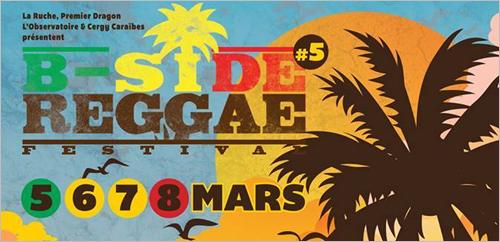 News reggae : Cinquième édition pour le B Side Reggae Festival à Cergy