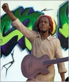 News reggae : Une statue de Bob Marley en Serbie