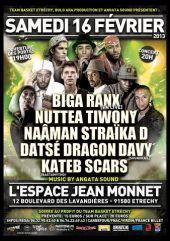 News reggae : Biga Ranx, Nuttea et Tiwony : belle affiche � Etrechy