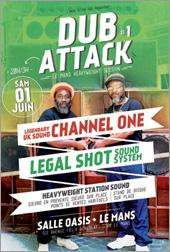 News reggae : Dub Attack avec Channel One
