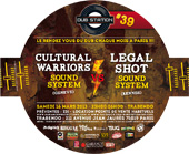 News reggae : Legal Shot vs Cultural Warriors � la Paris Dub Station