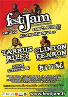 News reggae : Tarrus Riley et Clinton Fearon au Festijam