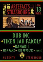 News reggae : Soirée reggae de choix au Festival des Artefacts 2014