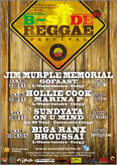 News reggae : Troisi�me �dition pour le B-Side Reggae Festival