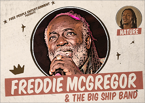 News reggae : Freddie McGregor en concert au New Morning