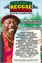 News reggae : Le Garance Reggae Festival s'étoffe