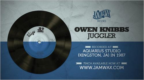 News reggae : La bombe digitale <i>Juggler</i> de Owen Knibbs rééditée par Jamwax Records
