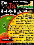 News reggae : Ja'Sound #2, l'affiche