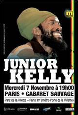 News reggae : Junior Kelly de retour en France