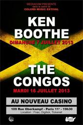 News reggae : Ken Boothe et The Congos au Colors Music Festival