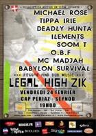 News reggae : Legal High Zik Festival, deuxième édition