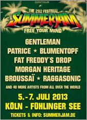 News reggae : Le Summerjam 2013 dévoile le début de sa programmation