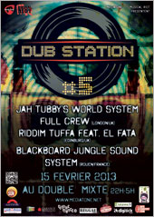 News reggae : Jah Tubby's � la Lyon Dub Station