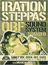 News reggae : Iration Steppas et OBF pour la Marseille Dub Station #25