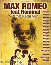 News reggae : Max Romeo en tournée en famille