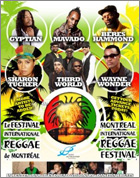 News reggae : Montréal Reggae Festival : l'affiche