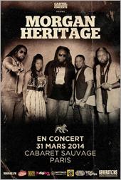 News reggae : Morgan Heritage en concert unique à Paris