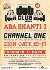 News reggae : Aba Shanti-I et Channel One au Nantes Dub Club