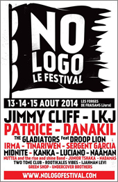 News reggae : No Logo Festival avec Jimmy Cliff, LKJ, Midnite, Luciano, Anthony B…