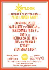 News reggae : Outlook Launch Party avec Stand High Patrol, Marina P et Kahn & Neek
