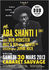 News reggae : Paris Dub Culture avec Aba Shanti
