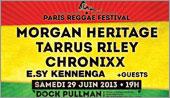 News reggae : Morgan Heritage, Tarrus Riley et Chronixx au Paris Reggae Festival