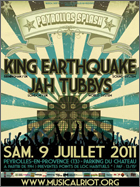 News reggae : King Earthquake et Jah Tubby's au Peyrolles Splash