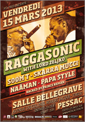 News reggae : Raggasonic, Soom-T et Skarra Mucci au Raggamuffin Revival