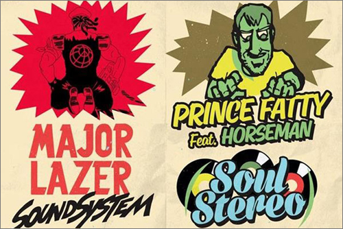 News reggae : Raspect #2 avec Major Lazer, Prince Fatty et Horseman