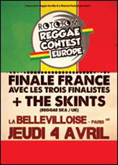 News reggae : Reggae Contest : les finalistes fran�ais
