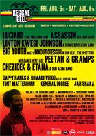 News reggae : Reggae Geel, l'affiche au complet