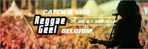 News reggae : Reggae Geel 2015, l'affiche au complet