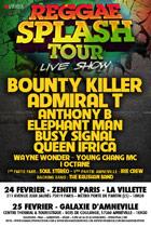 News reggae : Le Reggae Splash Tour n'aura pas lieu