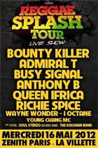 News reggae : Le Reggae Splash Tour, nouveau départ