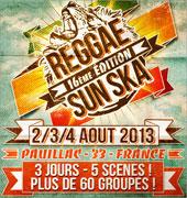 News reggae : <b>Les premiers noms du Reggae Sun Ska</b>