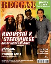 News reggae : Broussai et Steel Pulse à la Une de Reggae Vibes