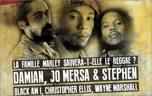 News reggae : Damian Marley, Stephen Marley et Jo Mersa à la Une de Reggae Vibes