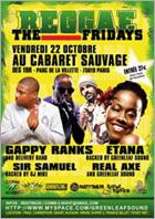 Le concert reggae fridays annulé