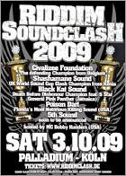 News reggae : Riddim Clash cru 2009