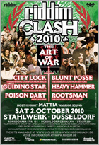 News reggae : Riddim Clash : Heavy Hammer l'emporte