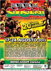 News reggae : Programme chargé au Rototom Sunsplash 2013