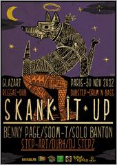 News reggae : Soom-T et Solo Banton à la prochaine Skank It Up