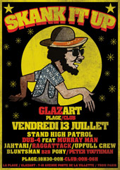 News reggae : Skank It Up Party, le programme