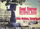 News reggae : Soul Stereo Birthday Bash